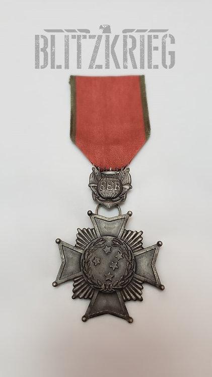 Medalha Cruz de Combate 2ª Classe Brasil Reposição