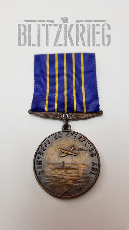 Medalha da Campanha do Atlântico Sul Brasil Reposição