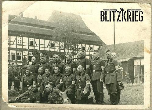 Braçadeira De Ajudante Da Wehrmacht Ww2