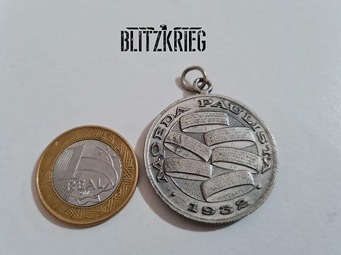 Medalha Moeda Paulista Pedro Toledo Revolução 1932