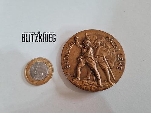 Medalhão Do Batalhão Paes Leme Revolução De 1932