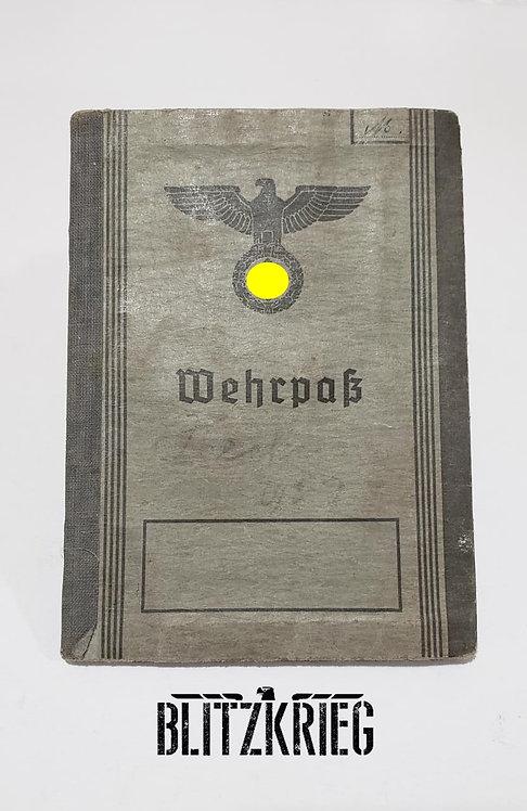 Documento Wehrpass 1940
