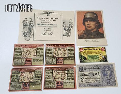 Lote 1 E 2 Guerra Numismática Alemanha Ww1 Ww2