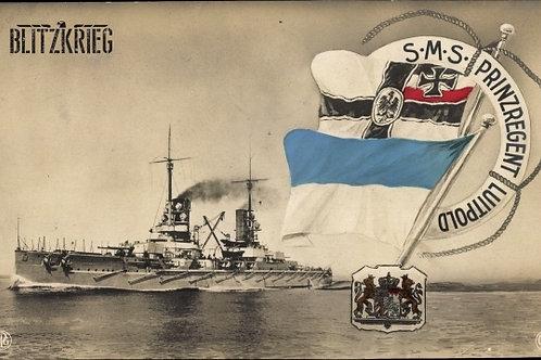 Fita de Boina da Marinha Alemã ww1