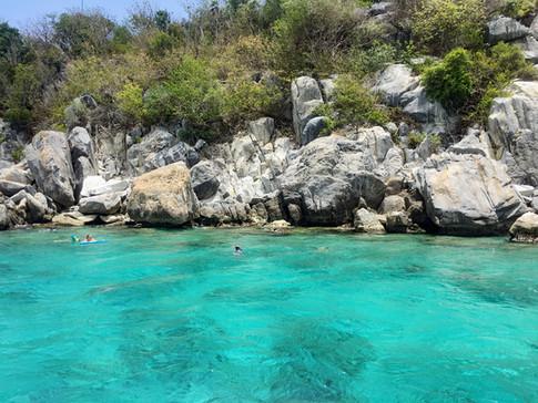 Snorkeling at Congo Cay