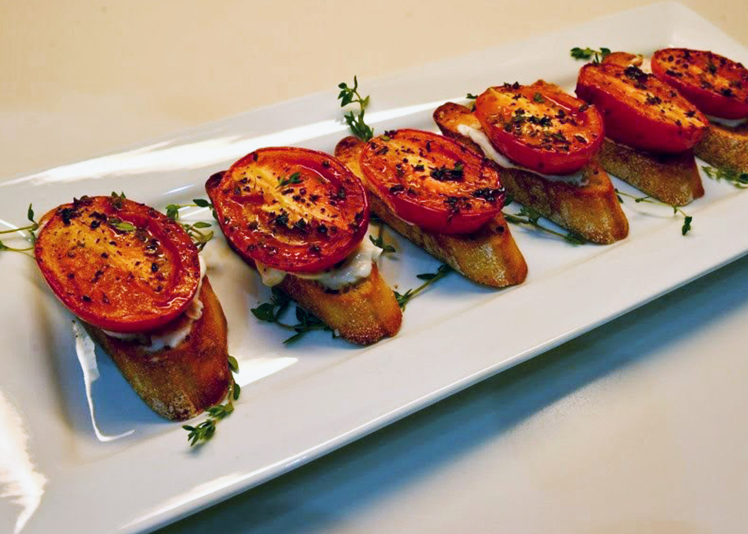 Roasted Tomatoes with Thyme