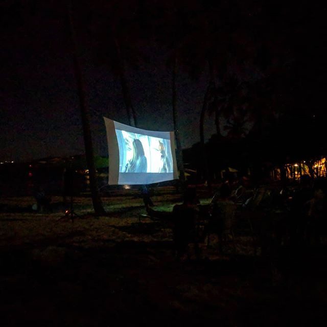Movie Night on Water Island