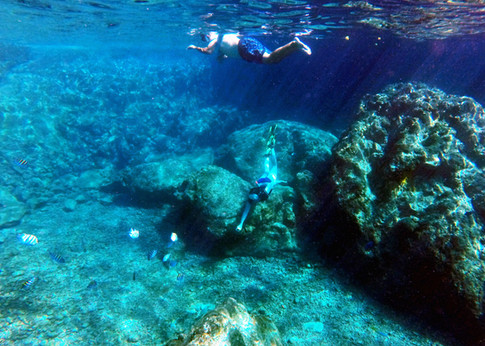 Snorkel at The Caves