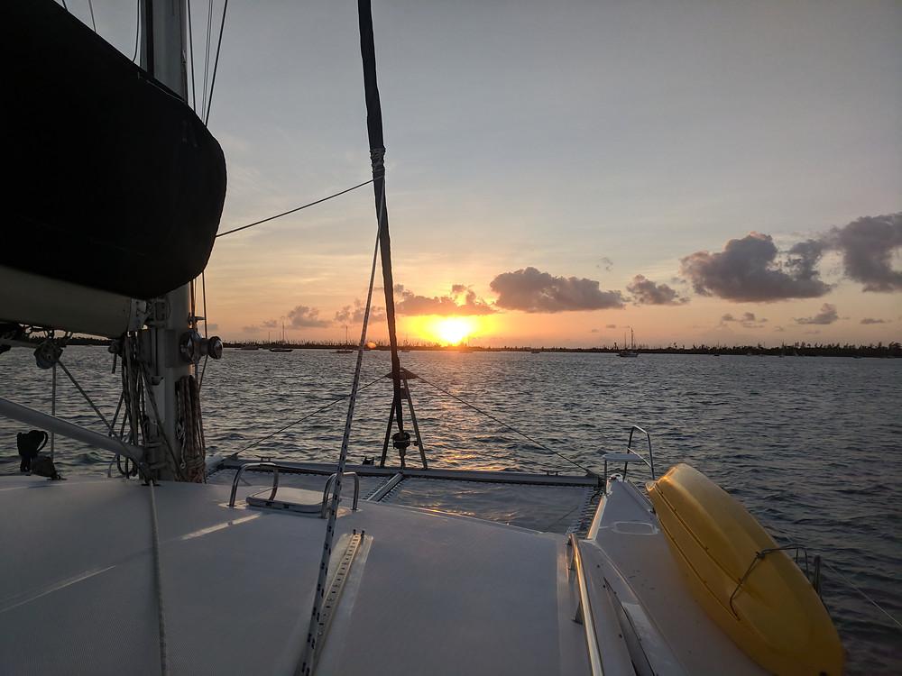 sunrise, sailing Kuma too, Kuma too, key west, Florida keys, sailing charter, sailing yacht, charter catamaran, sailing charters clearwater beach, sailing charters Dunedin, boat charters clearwater beach