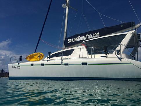 Sailing Catamaran, Kuma Too