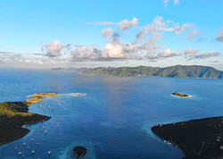 Little JVD Towards Tortola Drone