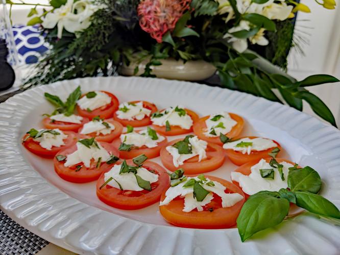 Caprese Salad Canapés