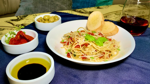 Silky Basil Italian Pasta