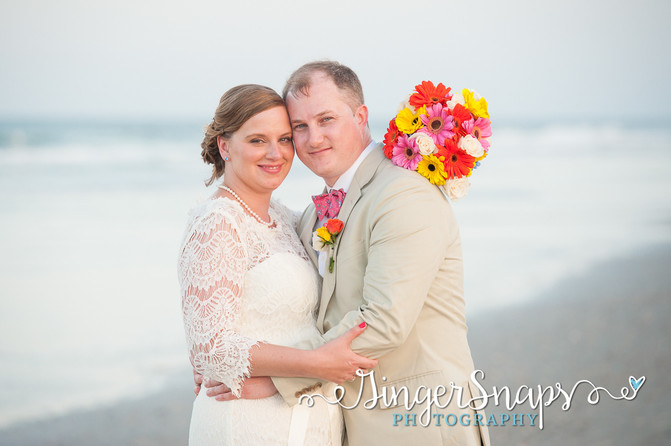 Meredith & Jeremy  //  { Outer Banks Photography }
