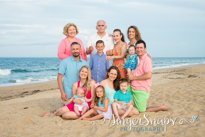 Outer Banks Beach Portraits | obx photographers