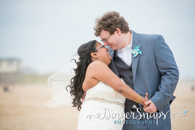 Fatima & Larry  //  { Outer Banks Wedding }