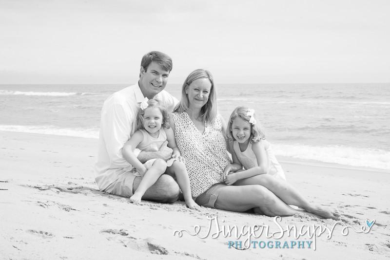 obx family beach portraits
