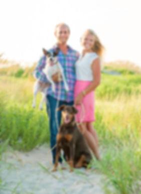 Ginger Harvey & Gracie, pet portraits, outer banks pet photogrpaher