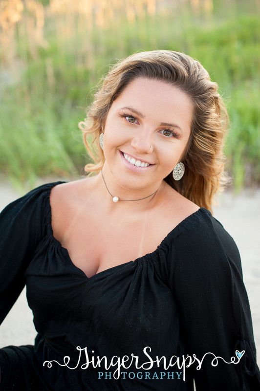 Outer Banks Beach Senior Portraits | obx photographers