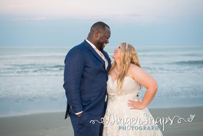 Alicia & James  //  { Outer Banks Photography }