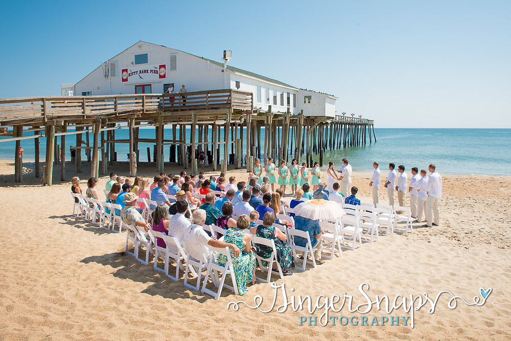kitty hawk pier weddings