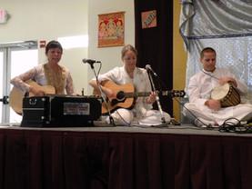Andrea Cortez, Eric & Veemala Shirdi Sai Baba temple, Cedar Park, Texas.
