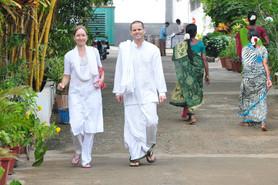 Veemala, Eric, Sri Kaleshwar ashram