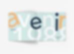 School Project_ Avenir Type Catalog and