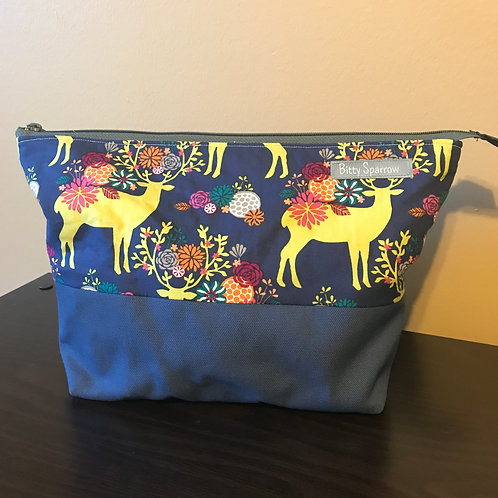 Custom Large Zip Pouches