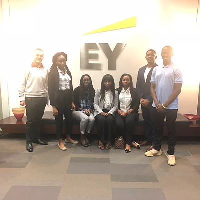 Ernst & Young Office Visit