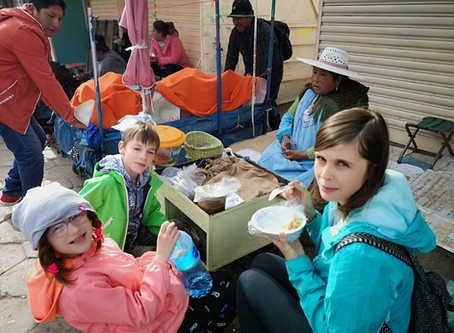 36-dniowa podróż z dziećmi po Ameryce Południowej część 1