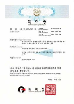 韓國改善[血流]專利