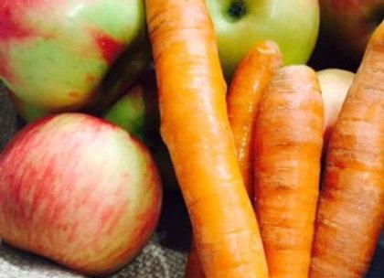 Piure de mere și morcovi Delirs