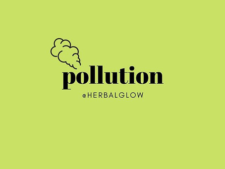 Pollution Impacts Your Skin 🚭