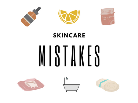 Common Skin Mistakes