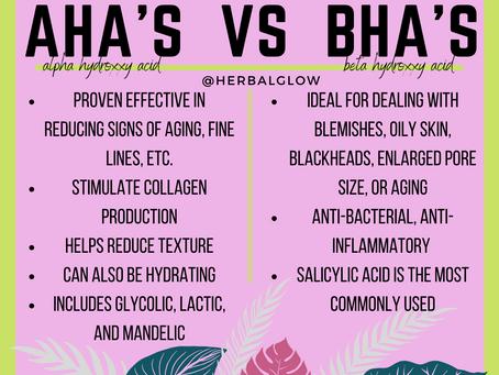 AHA's vs BHA's
