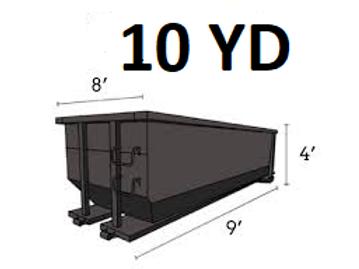 10 Cu. Yard Dumpster