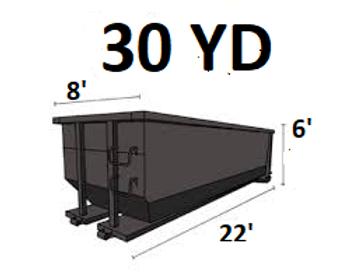 30 Cu. Yard Dumpster