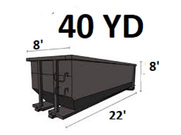 40 Cu. Yard Dumpster