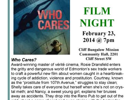Free Movie Sunday, February 23, 2014, 7 pm