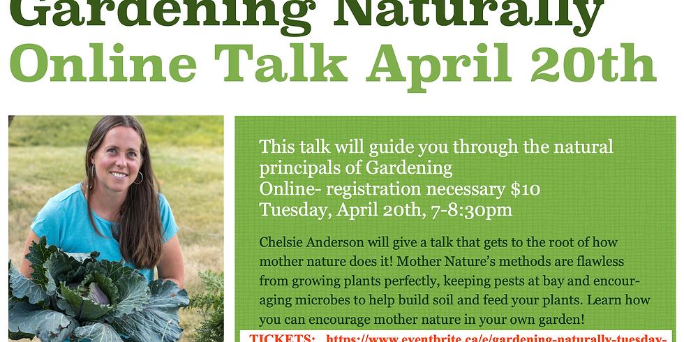 Gardening Naturally Talk