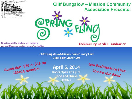 Spring Fling – Saturday, April 5, 2014