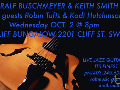 Jazz Guitar Night on Wed Oct 2, 2013