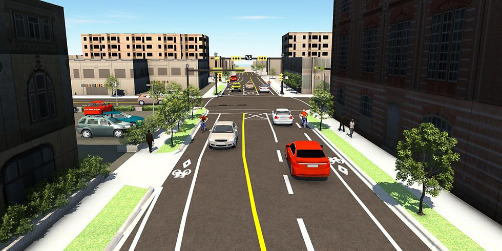 2nd Street Cycle Track Open House