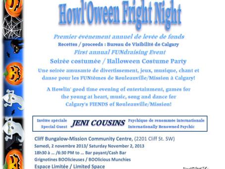FÊTE D'HALLOWEEN COSTUME PARTY – Saturday, November 2, 2013