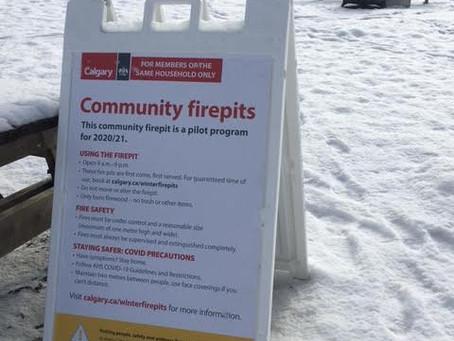 Community fire pits