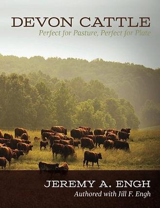 Devon cattle book cover