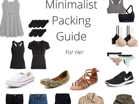 Minimalist Packing Guide For Her
