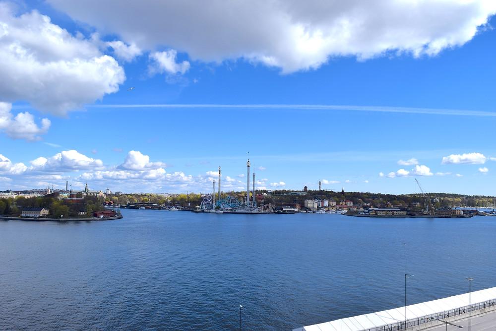 view from fotografiska stockholm