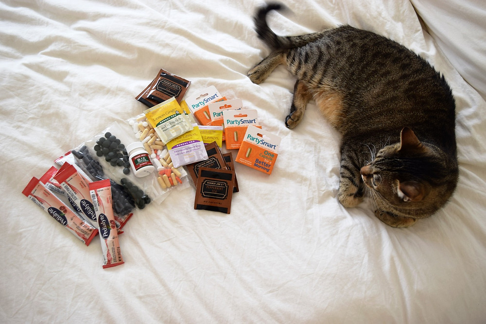 Products and supplements for travel